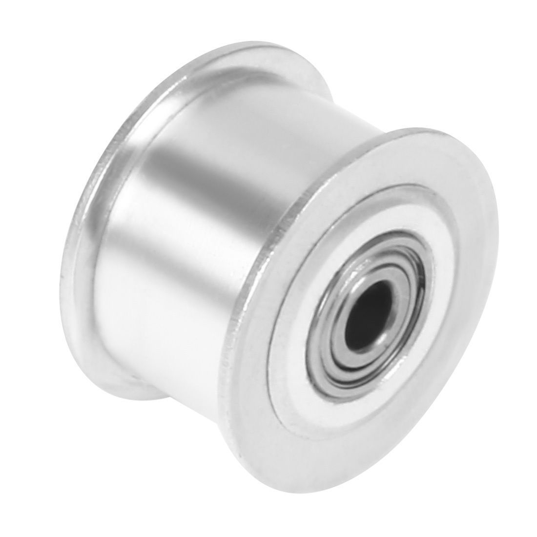 5mm Bore 6mm Gt2 Belt Smooth Idler Pulley Aluminum W